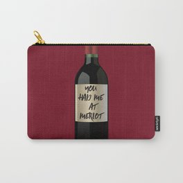 merlot Carry-All Pouch