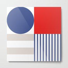 Modern Patriotism  Metal Print