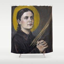 Santa Gemma Galgani Shower Curtain