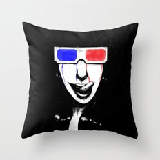 3Dgasmic Throw Pillow