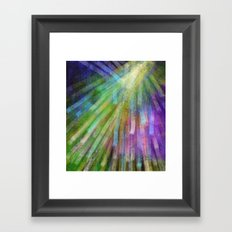 New and Glorious Rays Framed Art Print