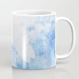 Blue Ice Mountains :: Fine Art Collage Coffee Mug