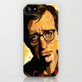 Woody Allen - Annie Hall I iPhone Case