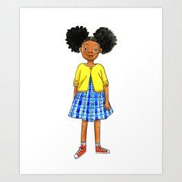 Puffs Art Print