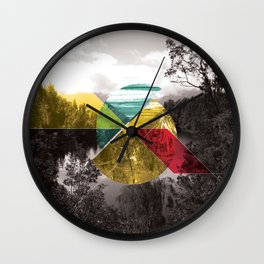 Sojourn series - Lake Mathieson Wall Clock
