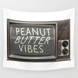 Peanut Butter Vibes Wall Tapestry