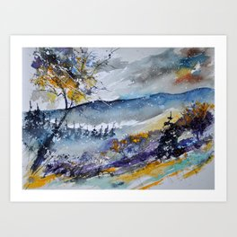 watercolor 311030 Art Print