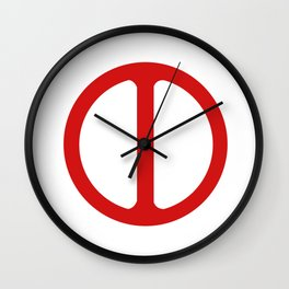 deadpooll Wall Clock
