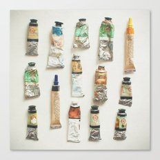 Oils Canvas Print
