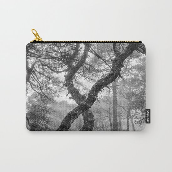 """""""X"""". Forest dreams BW Carry-All Pouch"""