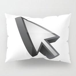 3D cursor (arrow) Pillow Sham