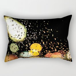 Windshield wipers, slappin' out of tempo, keepin' perfect rhythm with the song on the radio-oo-oo Rectangular Pillow