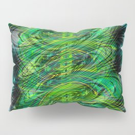 Instant Connection - Abstract Fusion Collection Pillow Sham