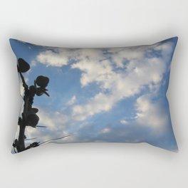 Cacti & sky Rectangular Pillow