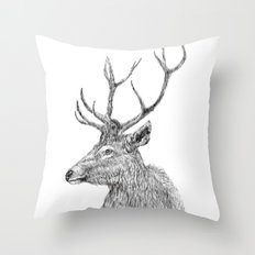 stag n.1 Throw Pillow
