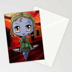 Chibi Zombie Stationery Cards