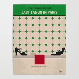 No941 My Last Tango in Paris minimal movie poster Poster