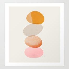 Abstraction_Balances_005 Art Print