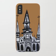 I Heart St. Louis Cathedral  iPhone X Slim Case