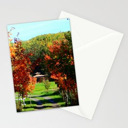 Full Bloom tree Path Stationery Cards