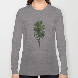 Red Russian Kale Long Sleeve T-shirt