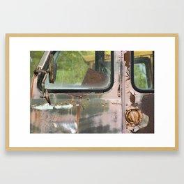 UPS Truck Framed Art Print
