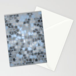 MOSAIC LIGHT BLUE Stationery Cards