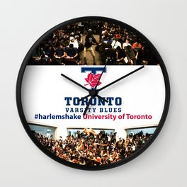 University of Toronto #harlemshake  Wall Clock