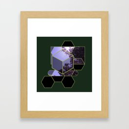 Window Lock Framed Art Print