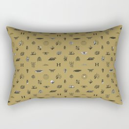 House of the Loyal - Pattern II Rectangular Pillow