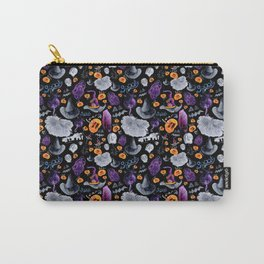 Halloween-Black Background Carry-All Pouch