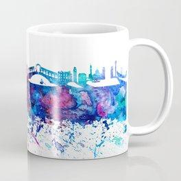Venezia Italy Skyline Silhouette Impressionistic Blast Coffee Mug