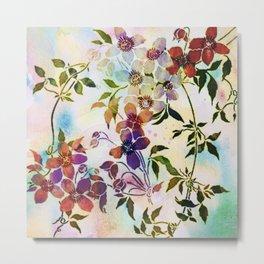 garland of flowers Metal Print