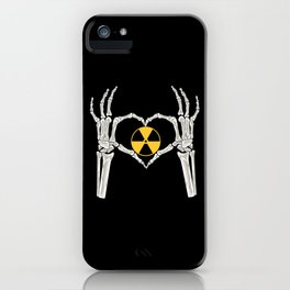 Rad Tech X Ray Skeleton Radiology Technican Gift iPhone Case
