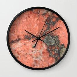 Mars on Earth Wall Clock