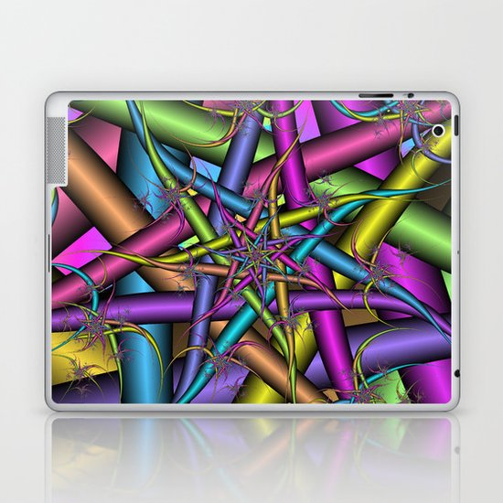 Star Fractal Laptop & iPad Skin