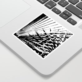 Spiked Palm Sticker