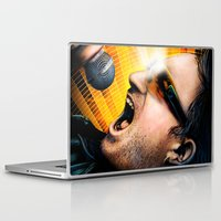 u2 Laptop & iPad Skins featuring Bono from U2 by TidalWave Productions