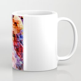Crystal Floral Coffee Mug