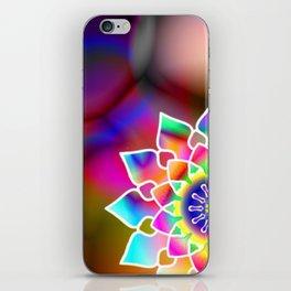 Hippie mandala iPhone Skin