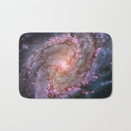 Spiral Galaxy M83 Bath Mat