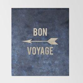 Bon Voyage  Throw Blanket