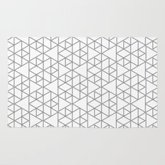 Karthuizer Grey & White Pattern Rug