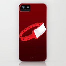 Polsera Vermella iPhone Case