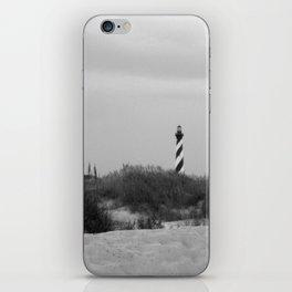 Hatteras Black & White iPhone Skin