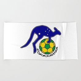 Australia Socceroos ~Group C~ Beach Towel