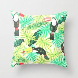 Tucanos Throw Pillow