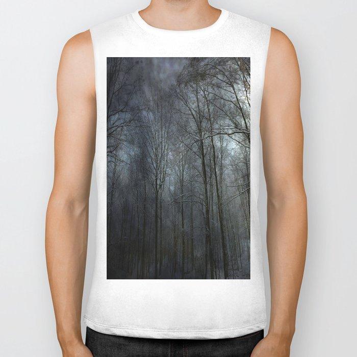 "forest """" Biker Tank"