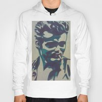 james franco Hoodies featuring James by Artistry by Briana