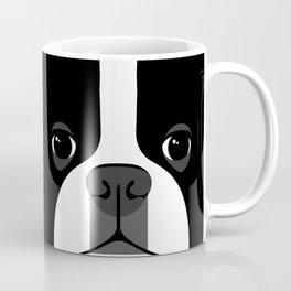 Boston Terrier Close Up Coffee Mug